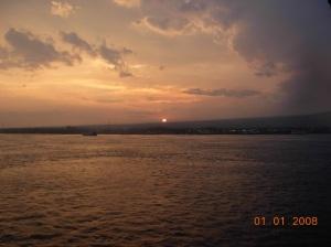 sunset di selat bali.dhie